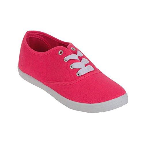 La Modeuse - Zapatillas de Deporte Mujer Rosa - Fuchsia