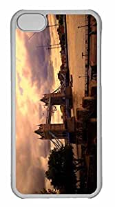 iPhone 5C Case, Personalized Custom Tower Bridge London 2 for iPhone 5C PC Clear Case by icecream design
