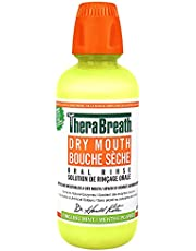 Thera Breath Therabreath Healthy Smile oral Rinse - sparkle Mint Fluoride & Xylitol - Fights Cavities for 24 Hours Certified Vegan, Gluten Free & Kosher, 16 ounces