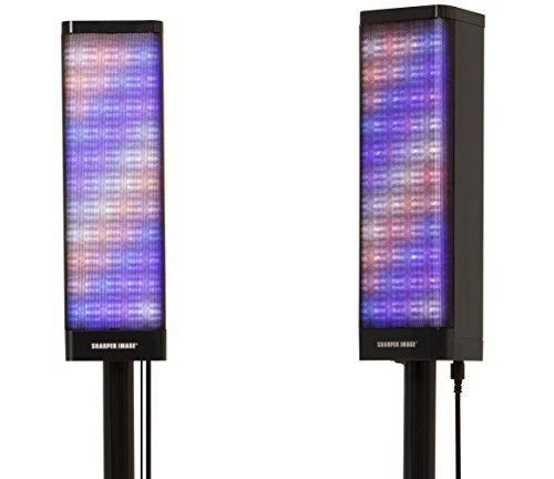 Sharper Image Sbt1019 2 Pair Bluetooth Tower Speakers Stereo System