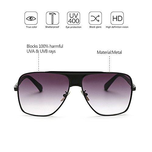 sol la UV400 Aire Estilo la de KINDOYO Protección Vendimia Hombres Gafas del 04 Venta de Metálico al Marco Libre caliente de qTAFwxWTHz