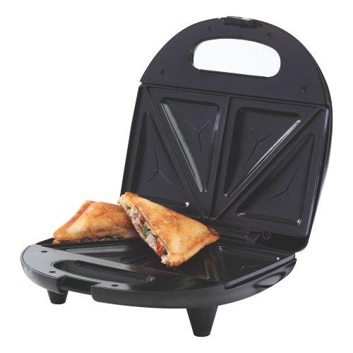 Borosil Neo 2 Slice Sandwich Maker- Black