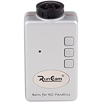 RunCam HD 1080P FPV Camera Sport Action Dash Cam for Multicopter Silver
