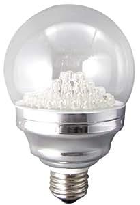 Lights of America 2035LED-65K-8 3.5-Watt LED G30 Globe Bulb, Bright White