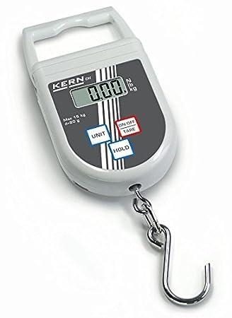 Balanza de colgar [Kern CH 50K50] , Campo de pesaje [Max]: 50 kg, Lectura [d]: 50 g: Amazon.es: Oficina y papelería