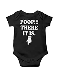 Witty Fashions Poop There It is - Gift Baby Bodysuit for 1st Birthday Christmas