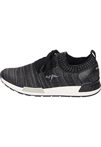 Sneaker Erwachsene KangaROOS Jet Grey Steel Unisex W Black 590 74ICRwxq