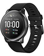 Haylou Solar Ls05 Smart Watch Rubber Band For Android & IOS-Black