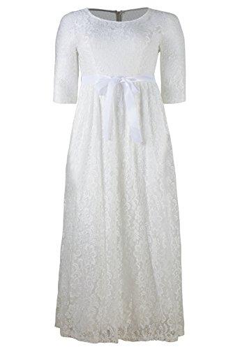 26w white dress - 8