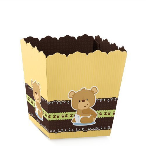 Baby Teddy Bear - Candy Boxes Baby Shower or Birthday Party Favors (Set of (Infant Yellow Teddy Bear)