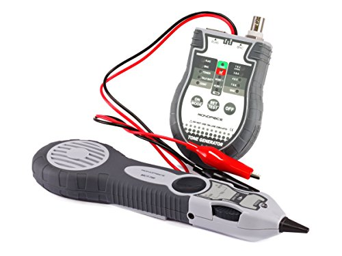 Monoprice Multifunction RJ-45, BNC and Speaker Wire Tone Generator/Tracer/Tester (108132)