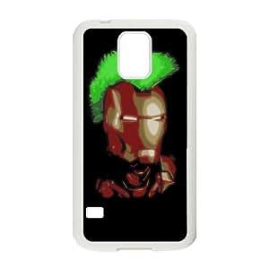Preview Iron Man Punker 2 funda Samsung Galaxy S5 caja funda del teléfono celular del teléfono celular blanco cubierta de la caja funda EEECBCAAL16915