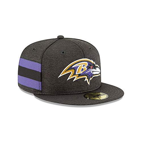 ディーラー宝石オペレーターニューエラ (New Era) 59フィフティ キャップ - サイドライン ホーム ボルティモア?レイブンズ (Baltimore Ravens)