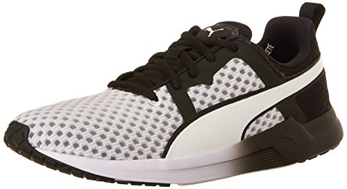 PUMA Women's Pulse XT CORE WNS-W Running Sneaker White/Black 9.5 B US