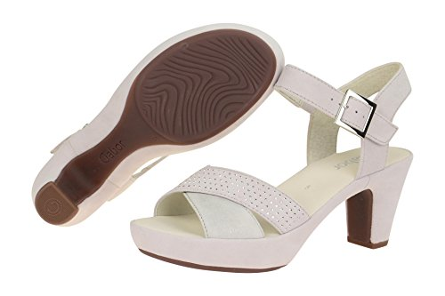 Gabor 65-752 Sandalias fashion de cuero mujer gris