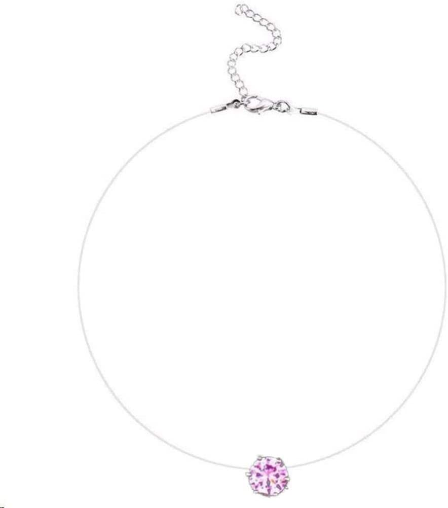 discountstore145 Womens Pendants Dainty Choker Necklaces Jewelry Gift Adjustable Chain Necklaces Set for Women Girls Silver S