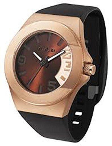 odm-unpretentious-iii-unisex-casual-watch-waterproof-sport-band-black-and-copper