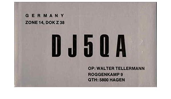 Amazon com: DJ5QA Citizens Band Radio Callsign Hagen