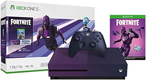 Xbox One S 1TB Console - Fortnite Battle Royale Special Edition Bundle