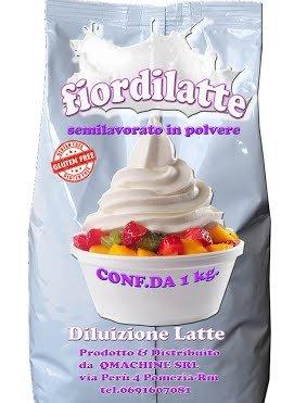 Producto En Polvo Semielaborado Para Hacer Helado Nata: Amazon.es: Alimentación y bebidas