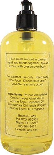 Sandalwood Rose Massage Oil, 16 oz