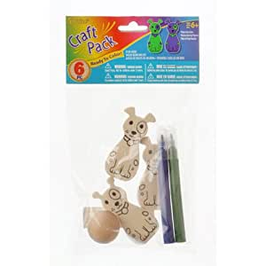 Bulk buy darice crafts for kids wood bowling for Craft kits for kids in bulk