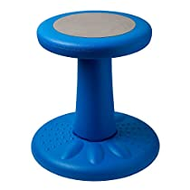 Kids Stay Active Chair - Active Sitting for Toddlers, Pre-Schoolers & Children Who Can't Sit Still - Great Wobbly Chair for Kids with ADD/ADHD - CorrectsPosture