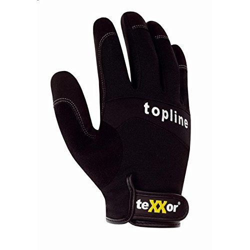 Texxor Topline Mechaniker- und Montagehandschuh 2520, Größe 10 Größe 10