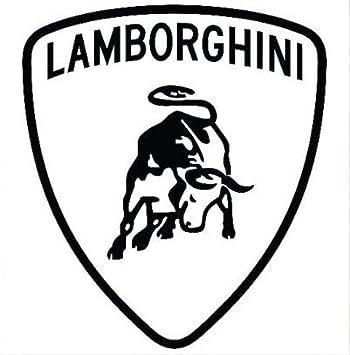 Resinfly Aufkleber Wählbar Adhesivo Sticker Lamborghini Wappen Bull