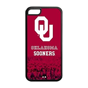 NCAA Oklahoma Sooners Logo Red Iphone 6 plus (5.5) Hard Case Cover at NewOne