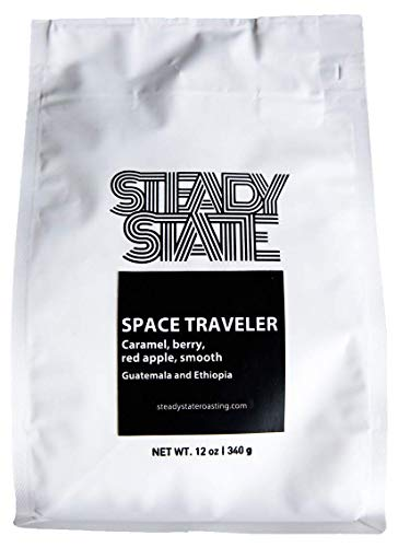 Space Traveler - Nano-Roasted - Whole Coffee Beans - Caramel, Berry, Red Apple, Smooth, Guatemala and Ethiopia