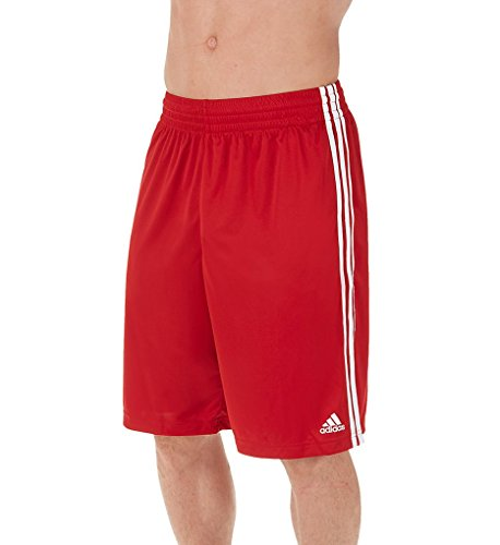 adidas Climalite Basketball Practice Shorts M Power Red