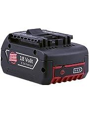 Remplacement pour Bosch 18V 5000mAh Li-Ion Remplacement Batterie BAT609 BAT621 BAT609G BAT610G BAT618G BAT618 BAT619 BAT619G BAT620 1600A002U5 Boetpcr