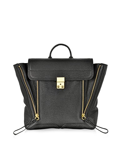 3.1 PHILLIP LIM WOMEN'S AC000291SKCBLK BLACK LEATHER BACKPACK