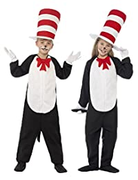 Boys Girls Cat In The Hat Dr. Seuss Fancy Dress Costume Size Small Ages (4-6 years) by Dr. Seuss