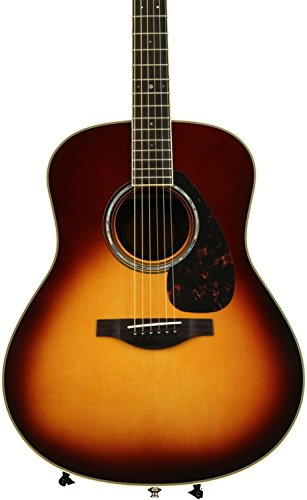 Yamaha L-Series LL6 Acoustic-Electric Guitar – Roswewood, Brown Sunburst