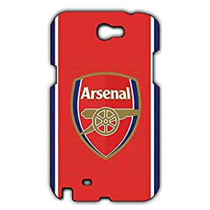 Famous Design FC Arsenal Football Club Phone Case Cover For Samsung Galaxy Note 2 3D Plastic Phone Case