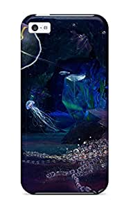 Anti-scratch And Shatterproof Deep Jewels Phone Case For Iphone 5c/ High Quality Tpu Case