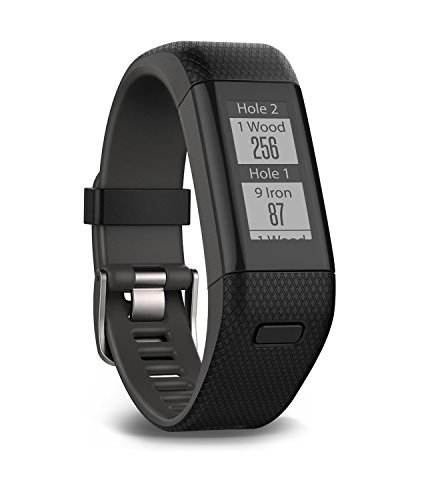 Garmin Approach X40 (Black/Gray) Golf GPS & Fitness Band BUNDLE with PlayBetter USB Car Charge Adapter by PlayBetter (Image #5)