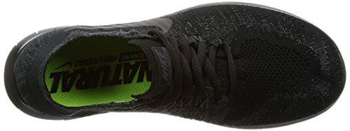 Nero Wmns da Flyknit Free RN Nike Corsa Scarpe Donna n8BRqvB4xg