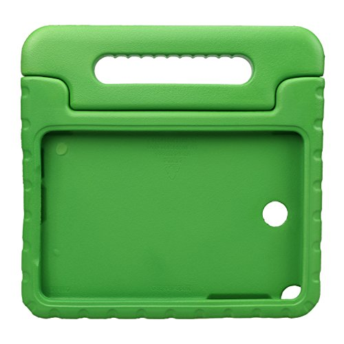 NEWSTYLE Samsung Galaxy Tab A 8.0 Shockproof Case Light Weight Kids Case Super Protection Cover Handle Stand Case for Kids Children For Samsung Galaxy Tab A 8.0-inch SM-T350 - Green Color