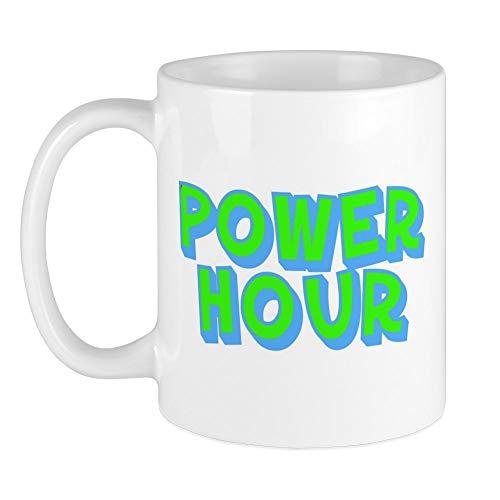 Ruch Design - CafePress Power Hour Mug Unique Coffee Mug, Coffee Cup