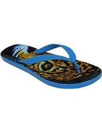 Chawaii Leopard Print Flip Flop Sandal
