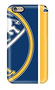 Hot Design Premium TbhRdNM1608yLBRL Tpu Case Cover Iphone 6 Protection Case(buffalo Sabres (75) )