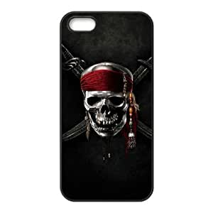 pirates of the caribbean 5 iPhone 5 5s Cell Phone Case Black Customized Gift pxr006_5244693
