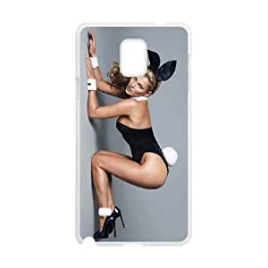 Playboy Samsung Galaxy Note 4 Cell Phone Case White Hcboj