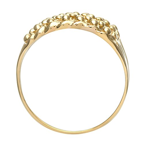 Bague - PL 056(H) - Femme - Or jaune (9 carats) 3.1 Gr