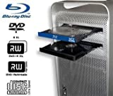 MCE Technologies Mac Pro Blu-ray Drive: Internal Blu-ray Burner, Writer, Player for Apple Mac Pro Tower (Early 2009 thru Mid 2012) with Mac Blu-ray Player software!
