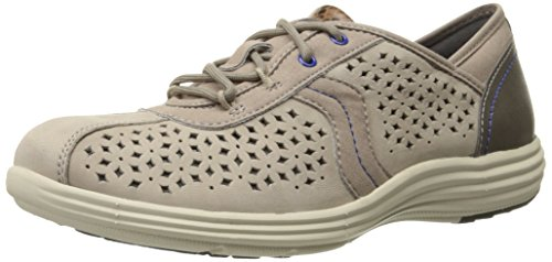 Aravon Womens Betty-AR Oxford Stone