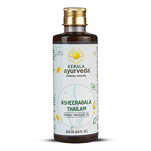 Kerala Ayurveda Ksheerabala Thailam – Daily Massage Oil for Body – Nourishes Muscles, Maintains Bone and Joint Health…